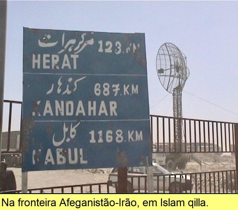 Na fronteira Afeganistão-Irão, em Islam qilla.