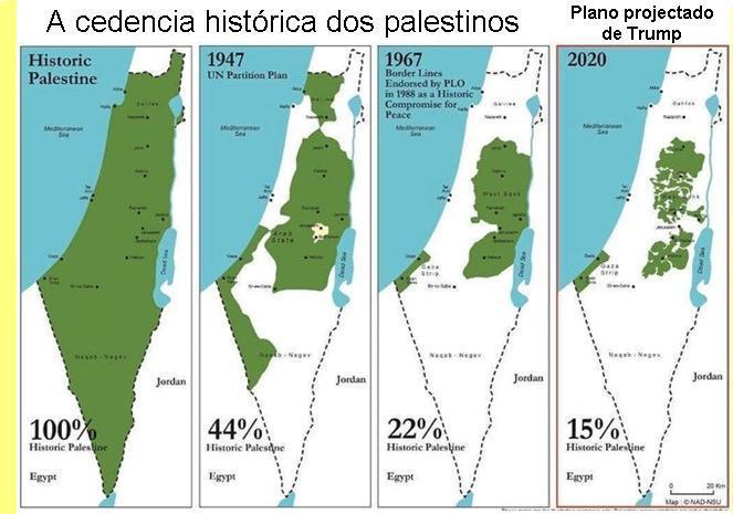Por que são tão irrisórias as respostas dos palestinos à proposta de anexação israelense?