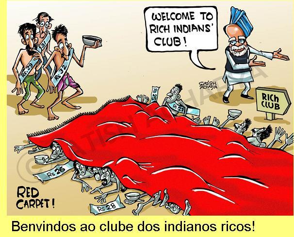 A globalização promovida pelo governo Modi.