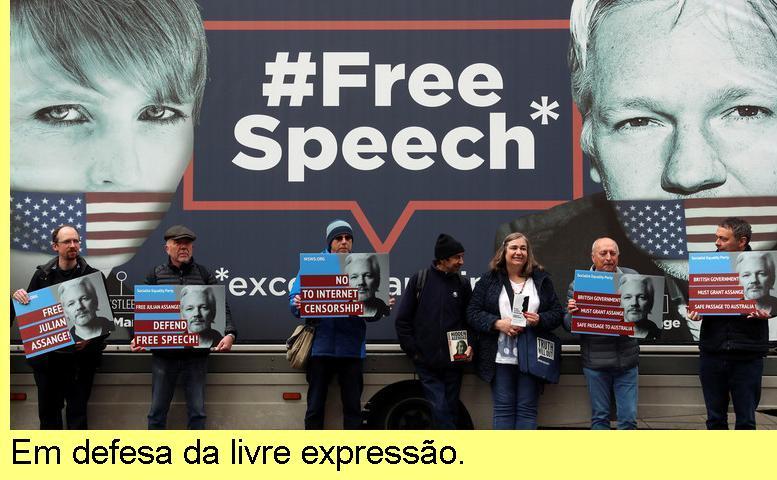 Em defesa da livre expressão.