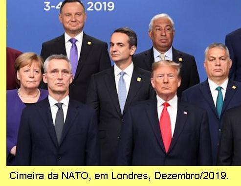 Cimeira da NATO, 2019.