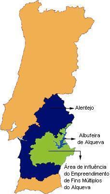 mapa de portugal barragem do alqueva Água e energia, Alqueva ao fundo mapa de portugal barragem do alqueva