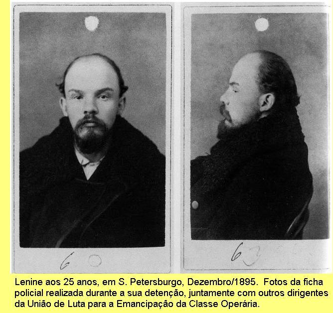Lenine em 1895.