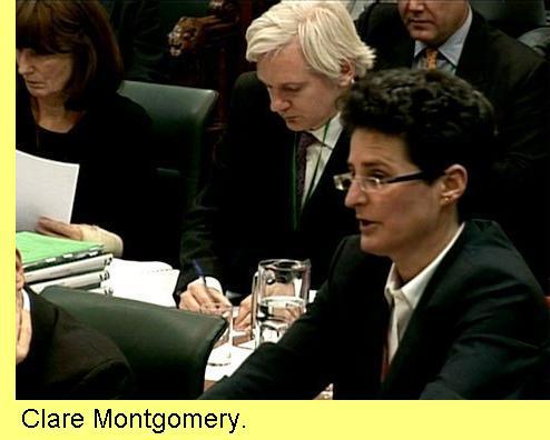 Clare Montgomery.