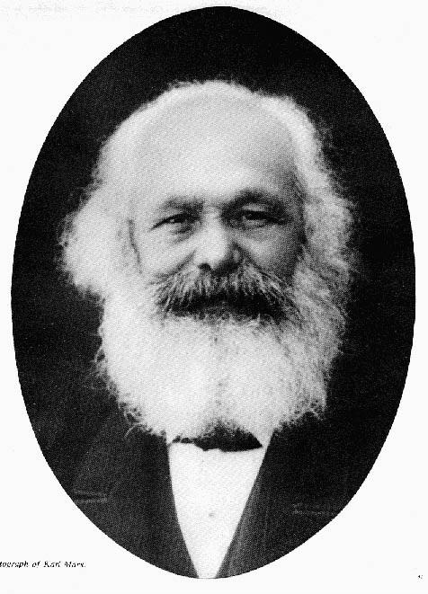 Foto de Marx em 1882.